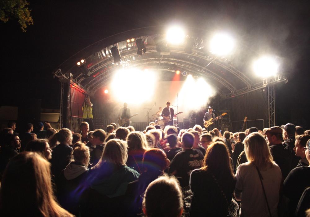 Das Summertime-Festival heizt dem Seeliger-Park am Samstag ein. Foto: Werner Heise / Archiv