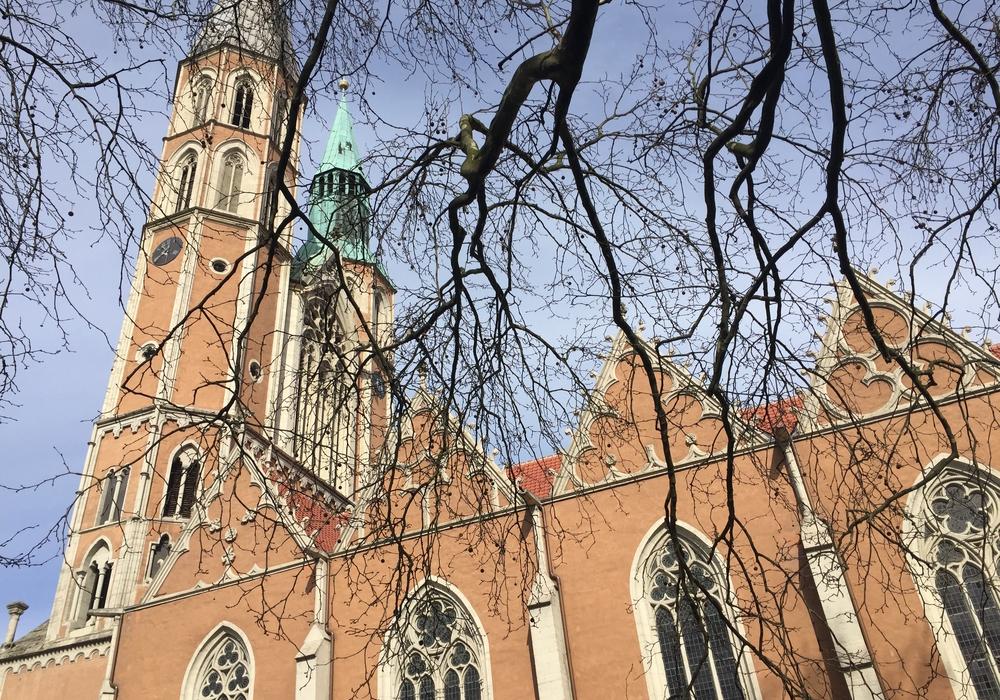 Am Sonntag findet ein Hochschulgottesdienst in St. Katharinen statt. Foto: Anke Donner