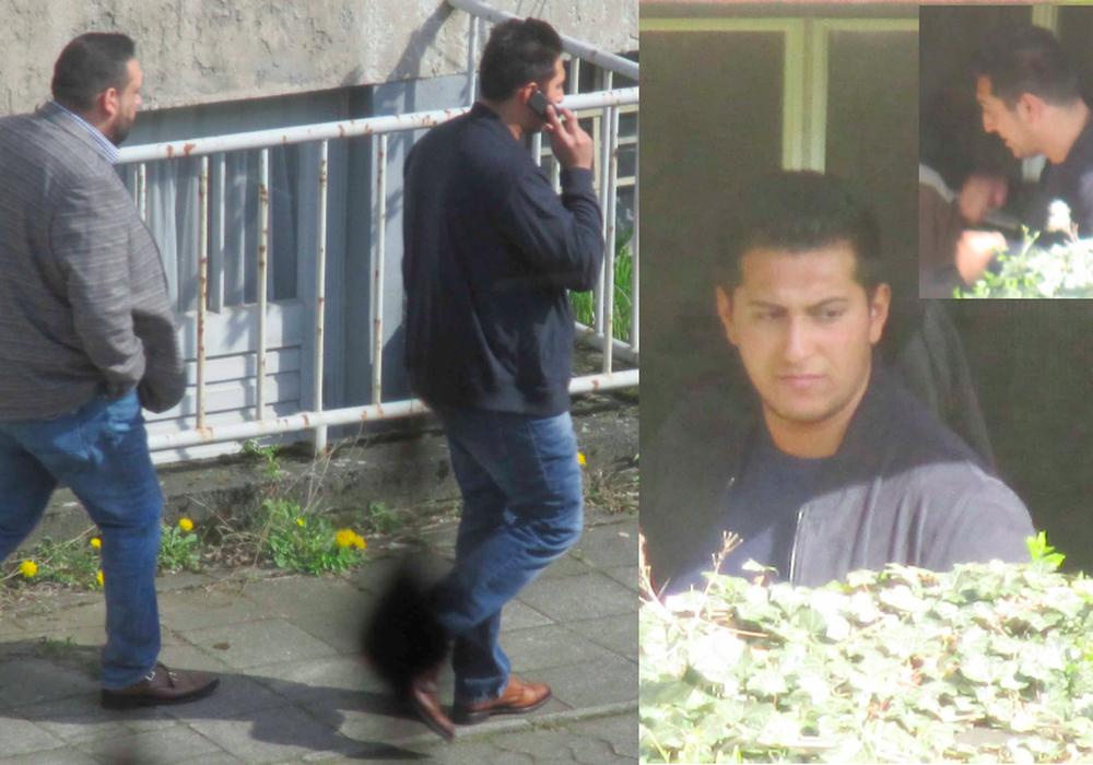 Die Polizei sucht mit diesem Bild nach zwei Trickbetrügern. Foto: Polizei