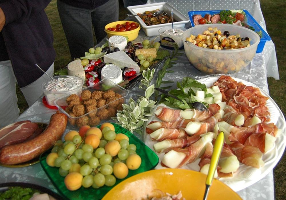 Frühstück im Freibad Schladen. Foto: Privat