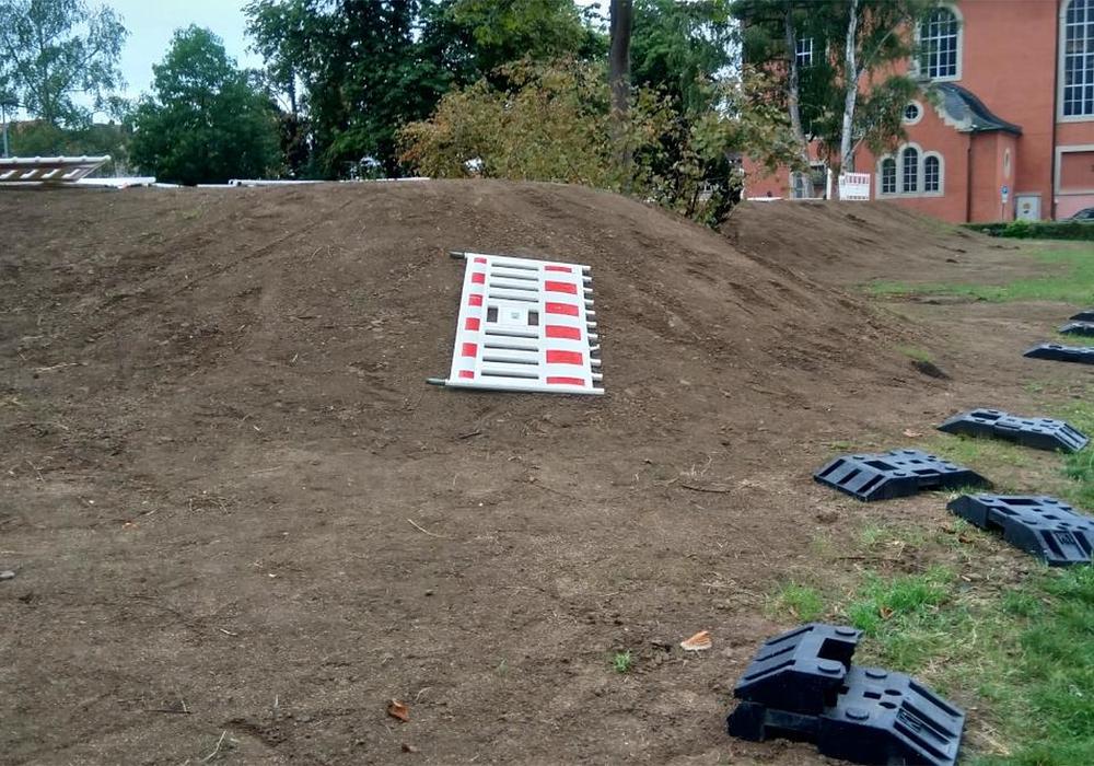 Laut Verwaltung ist ein Schaden von über 1.200 Euro entstanden. Fotos: Stadt Wolfenbüttel