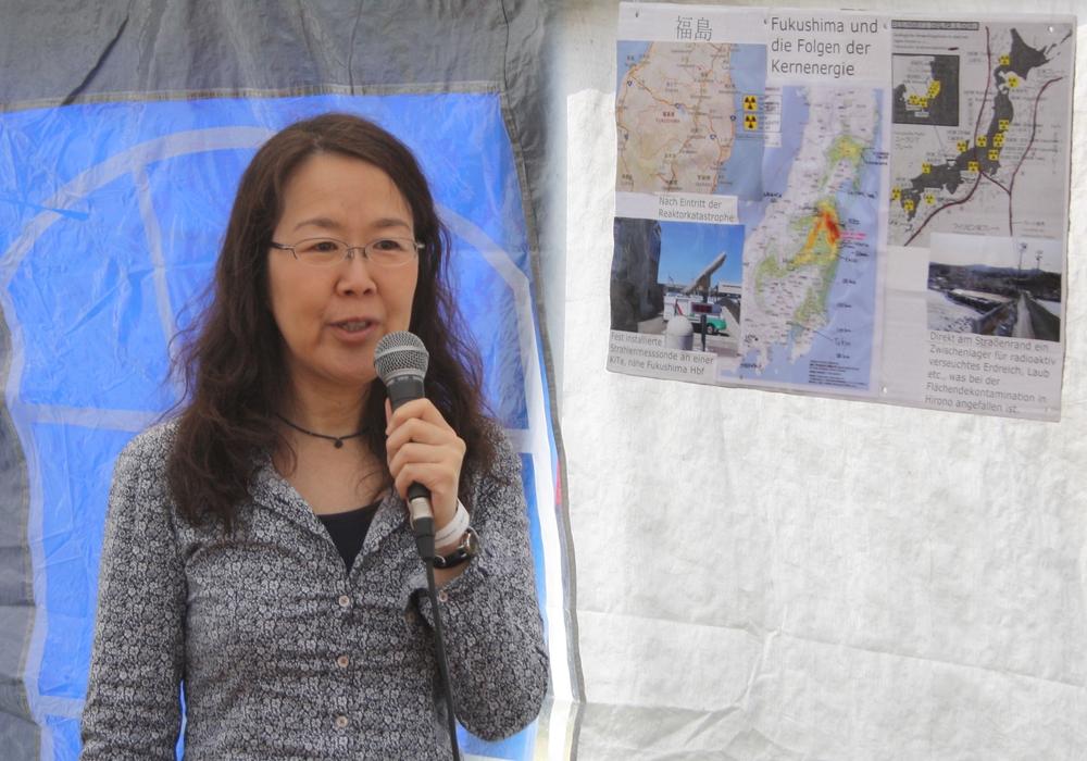 Die Fukushima-Zeitzeugin Shinobu Katsuragi befindet sich am 10. und 11. März in unserer Region. Foto: Privat
