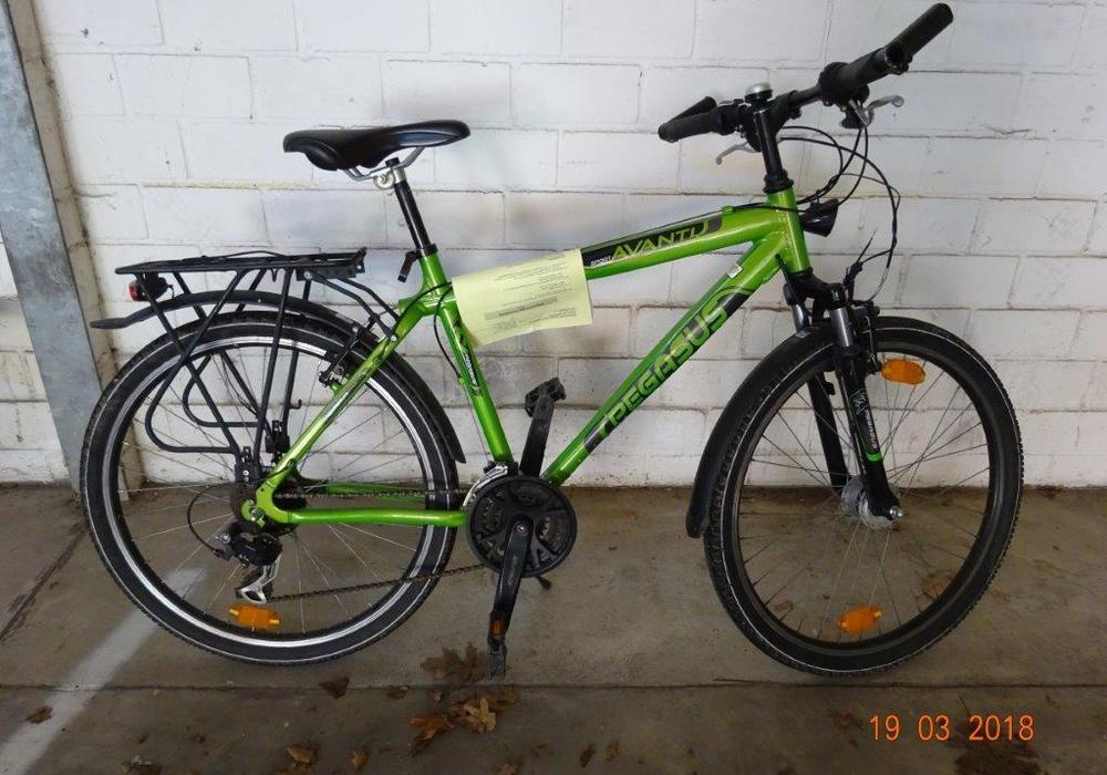 Eines der sichergestellten Fahrräder. Foto: Polizei