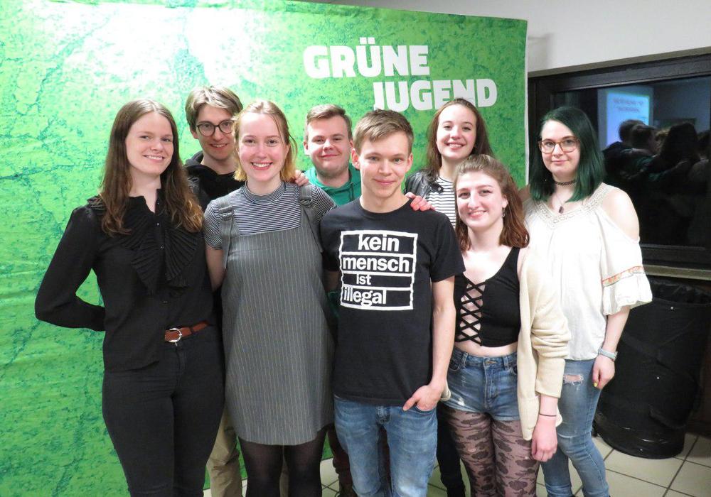 Der neue Landesvorstand der Grünen Jugend. Fotos: Grüne Jugend