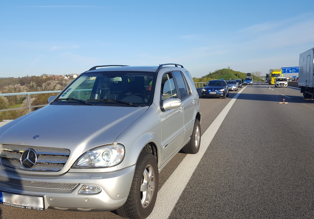 Dieser Wagen wurde wohl in Salzgitter gestohlen. Foto: Bundespolizei
