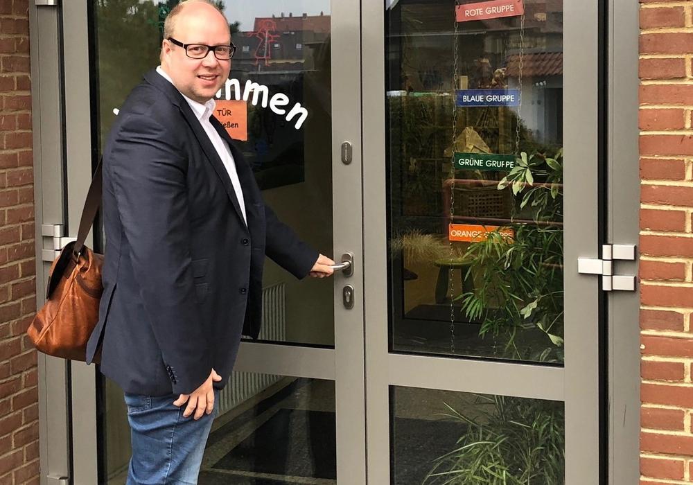 """""""Heute ist ein guter Tag für Kinder, Eltern und Kommunen in Niedersachsen"""", sagt der SPD-Landtagsabgeordnete Jörn Domeier."""