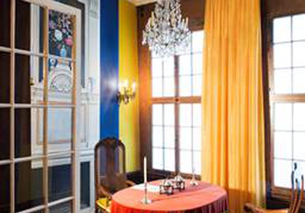 Öffentliche Führung durch das Museum Schloss. Hier: Konferenzkabinett Herzogappartement. Foto: Privat