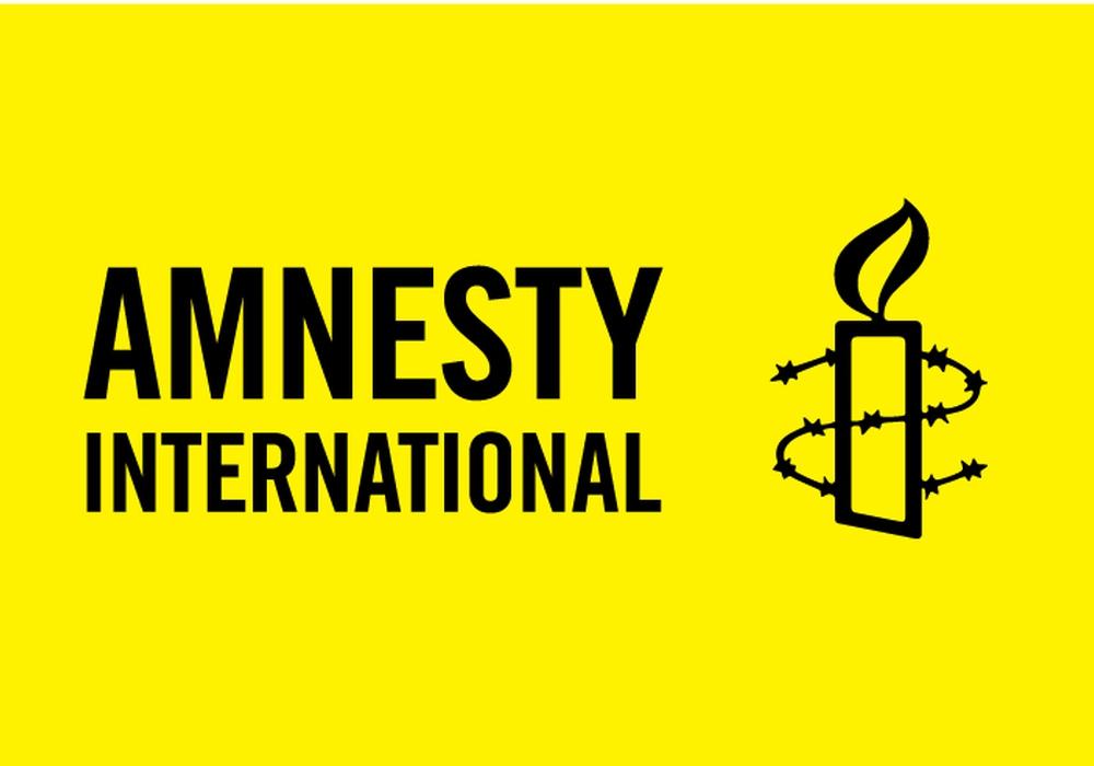 Amnesty international - Braunschweig und Wolfenbüttel laden zu einer Veranstaltung mit Dr. Michael Koch ein. Logo: Amnesty International