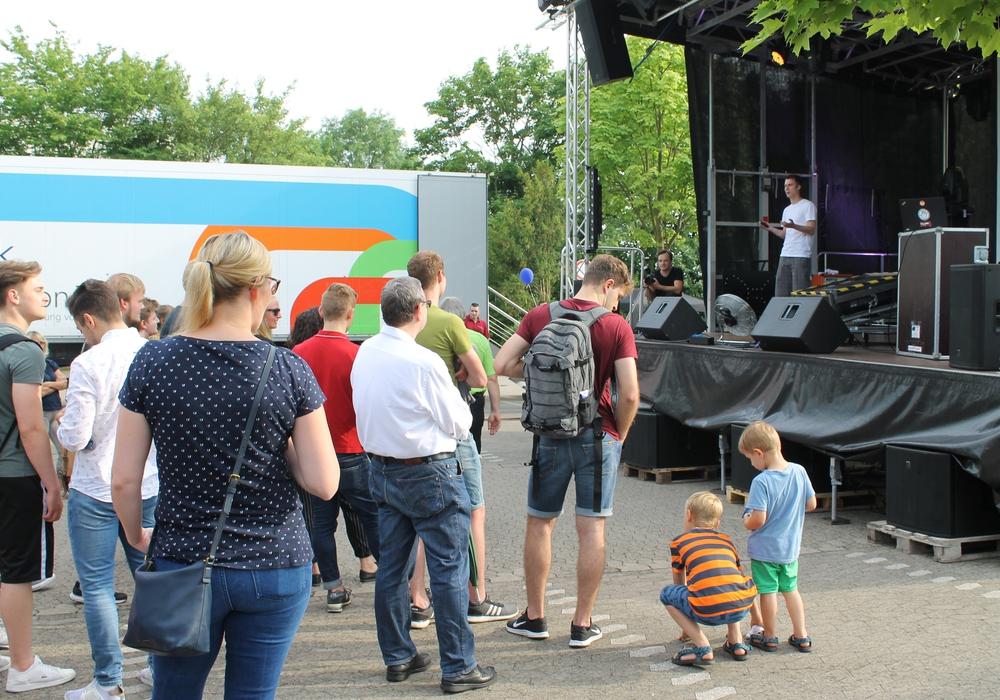 Am Freitag fand der Campustag der Ostfalia in Wolfenbüttel statt.Fotos: Ostfalia