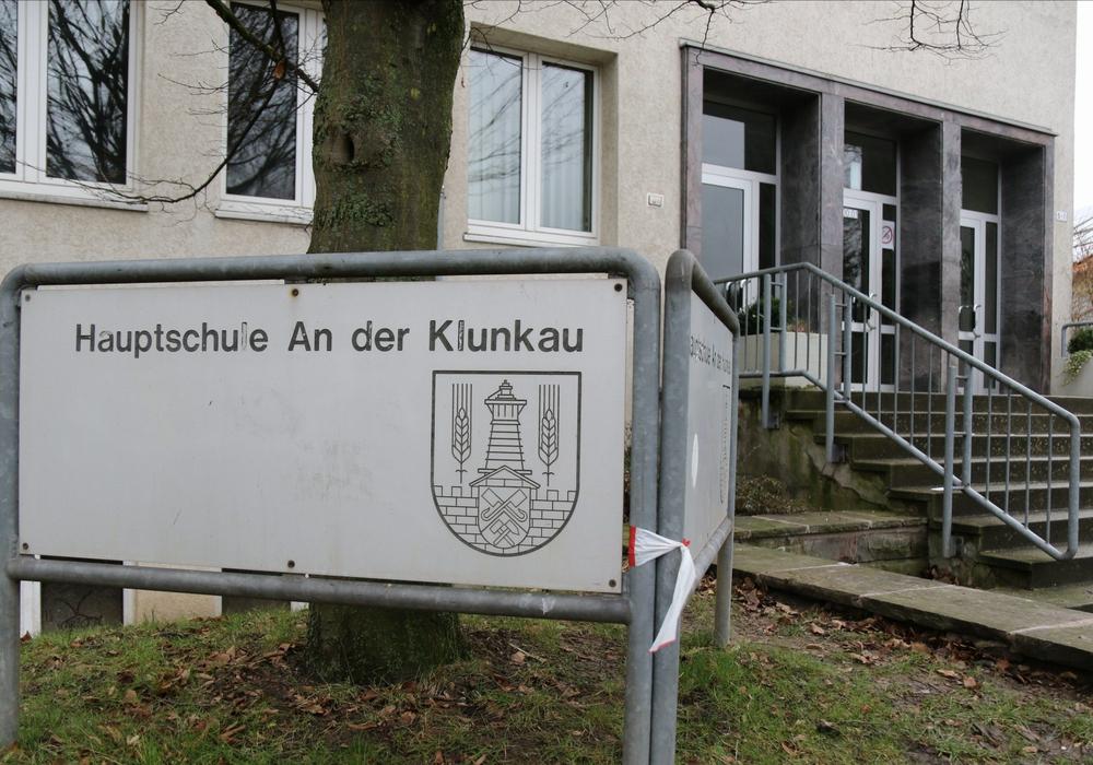 Die Hauptschule an der Klunkau in Salzgitter. (Archivbild)
