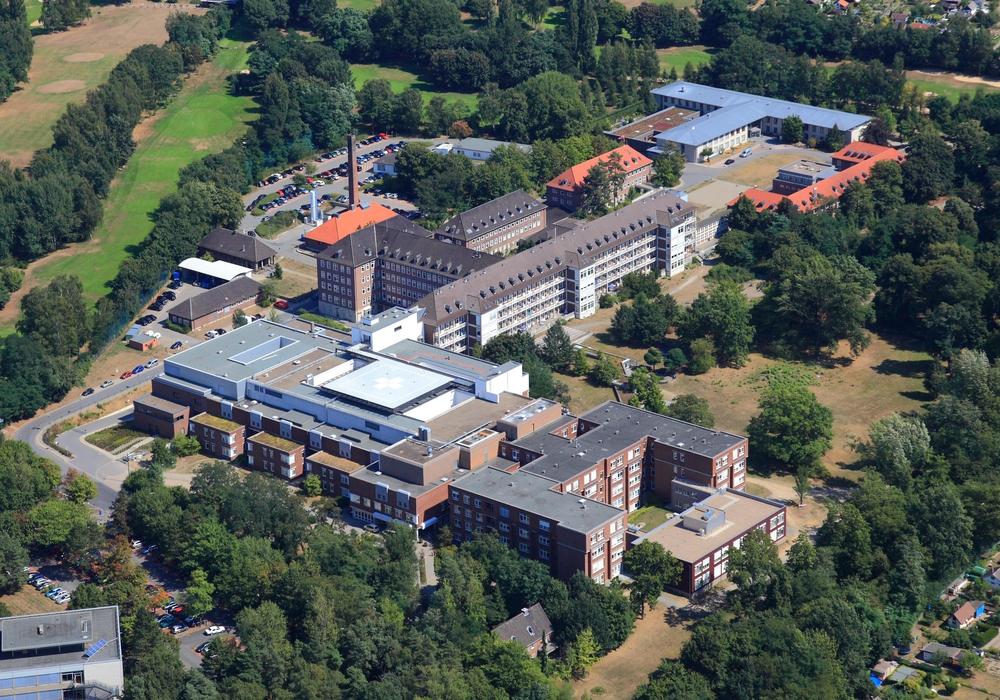 Salzdahlumer Straße von oben. Foto: Klinikum BS/ Peter Sondermann