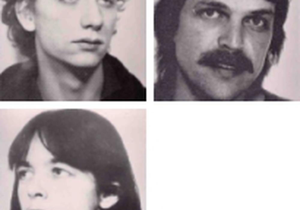 Ernst-Volker Wilhelm Staub, Daniela Klette, Burkhard Garweg. Fahnungsfoto: BKA