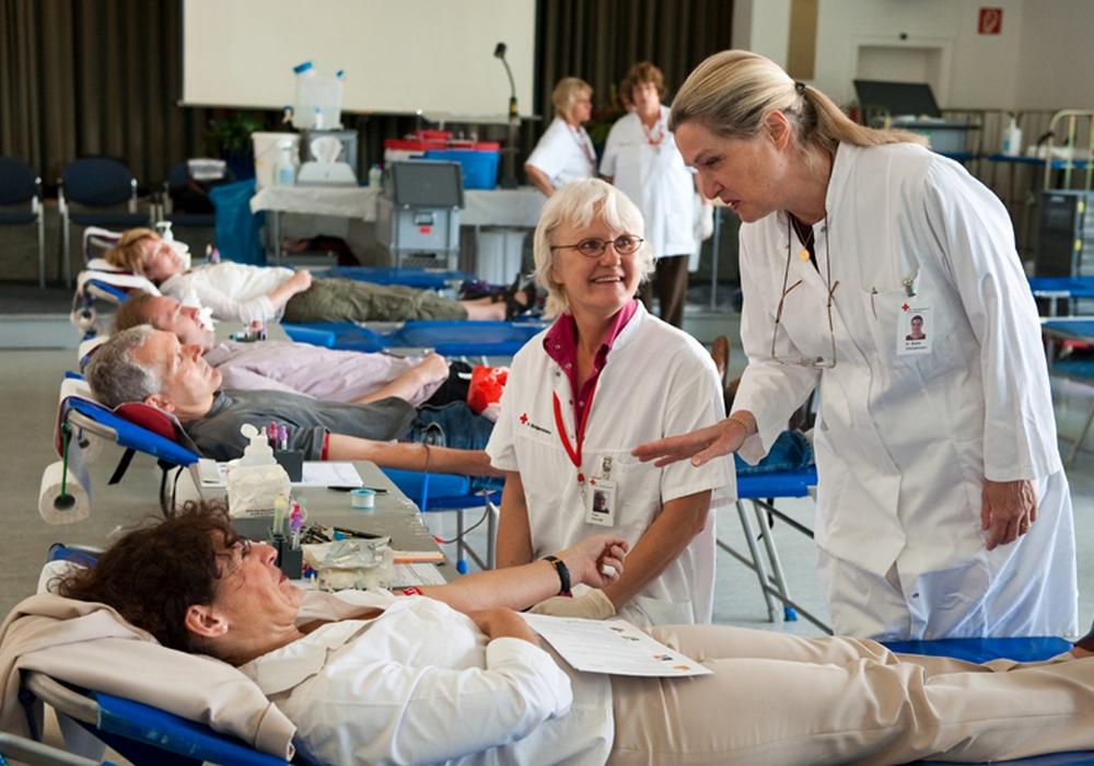 Symbolfoto: DRK-Blutspendedienst NSTOB