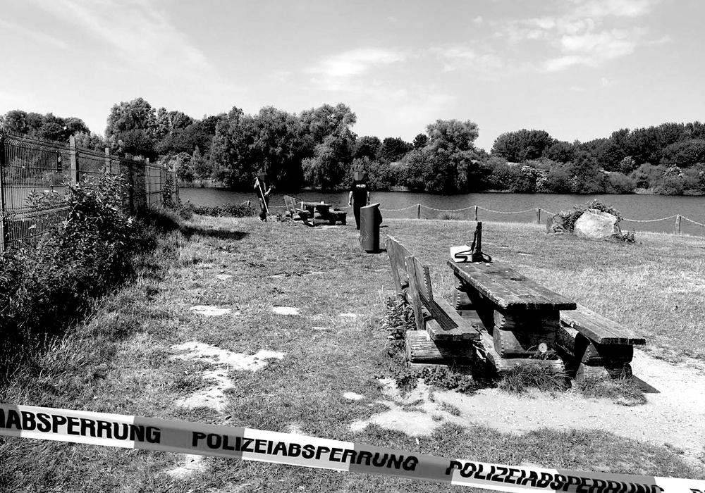 Hier wurde die Leiche am gestrigen Sonntag gefunden. Foto: Aktuell24 (KR)