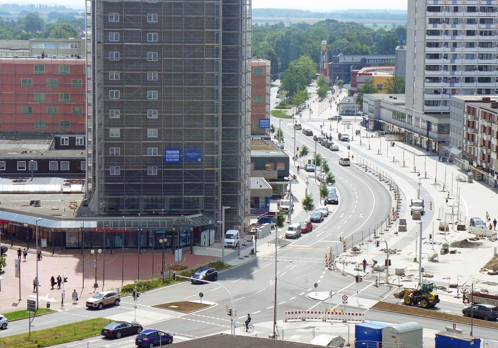 Endlich wieder für den Verkehr geöffnet, die Albert-Schweitzer-Straße. Foto: Stadt Salzgitter