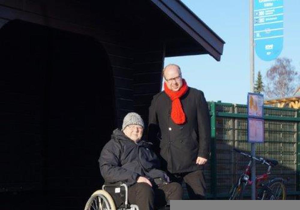 Achim Klaffehn und Jörn Domeier. Foto: Abgeordnetenbüro Jörn Domeier