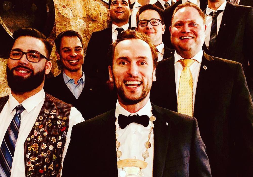 Der neue Vorstand des Round Table 112. Foto: Round Table 112