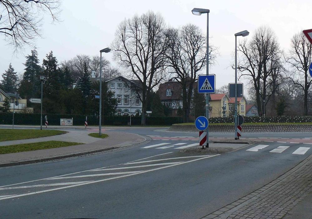 Ein Kreisverkehr in Wolfenbüttel, Foto: Archiv