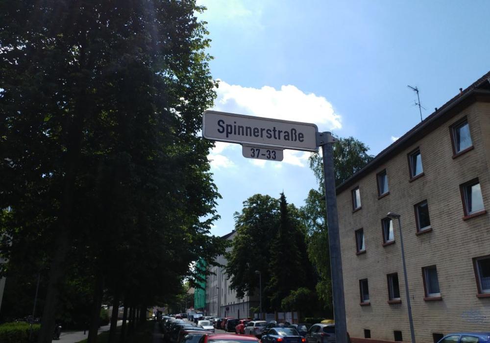 Der Einsatz fand in der Spinnerstraße statt. Foto: Alexander Panknin