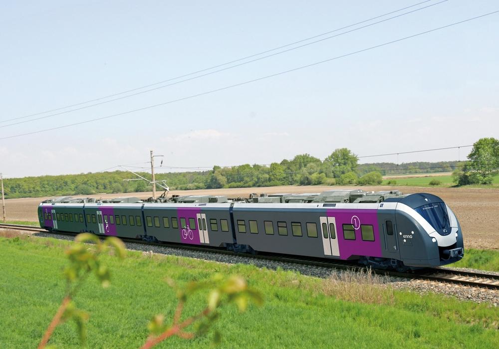 Für die Eintracht-Fans, die zum Relagationsspiel wollen, steht ein Sonderzug bereit. Foto: metronom Eisenbahngesellschaft mbH