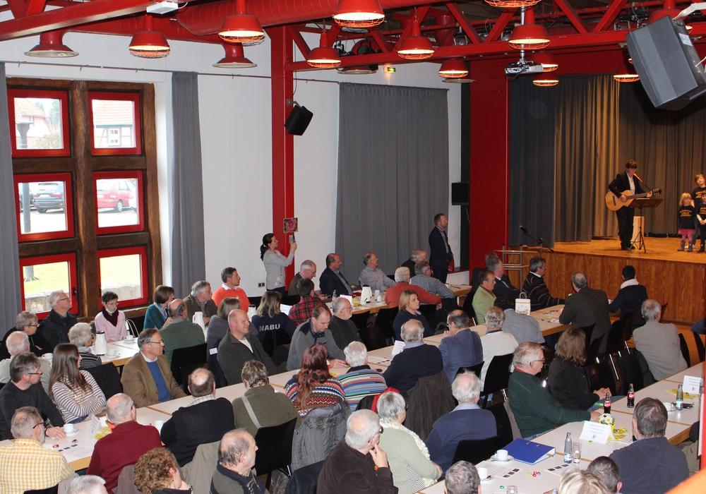 Rund 250 interessierte Gäste nahmen an der Veranstaltung teil. Foto: Nick Wenkel