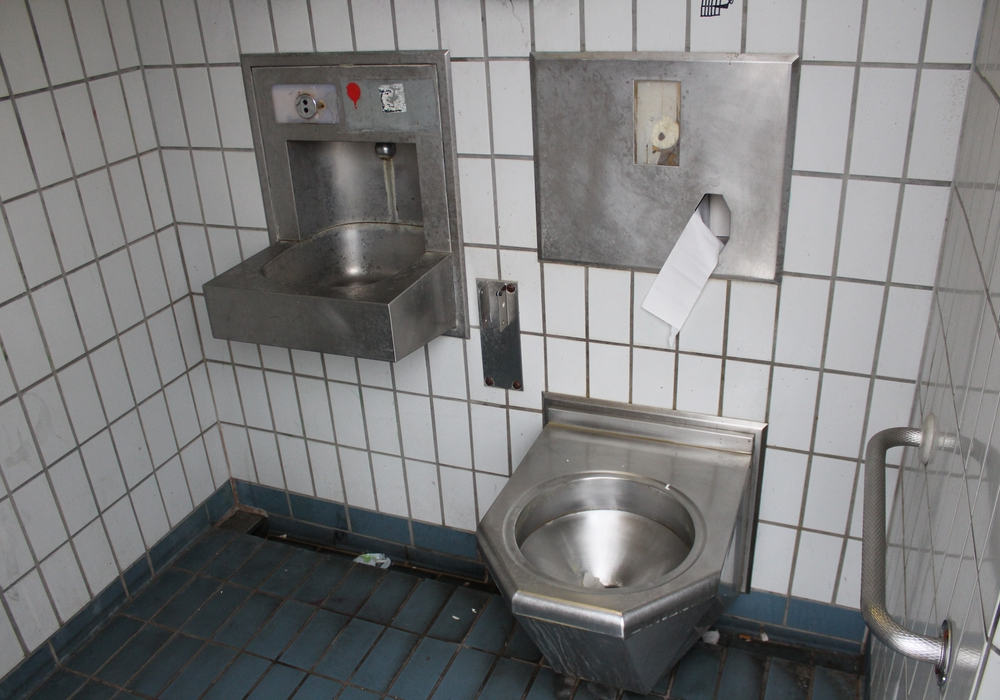 Einfach Ein Saustall Sovd Moniert Zustand Von Bahnhofs Wc Regionalheute De