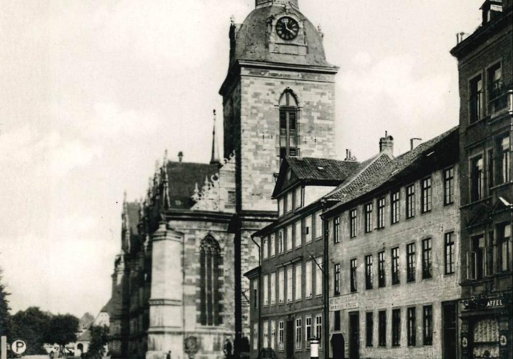 Abb.: Die Wolfenbütteler Hauptkirche, LAW FS 1799 bzw. 1800