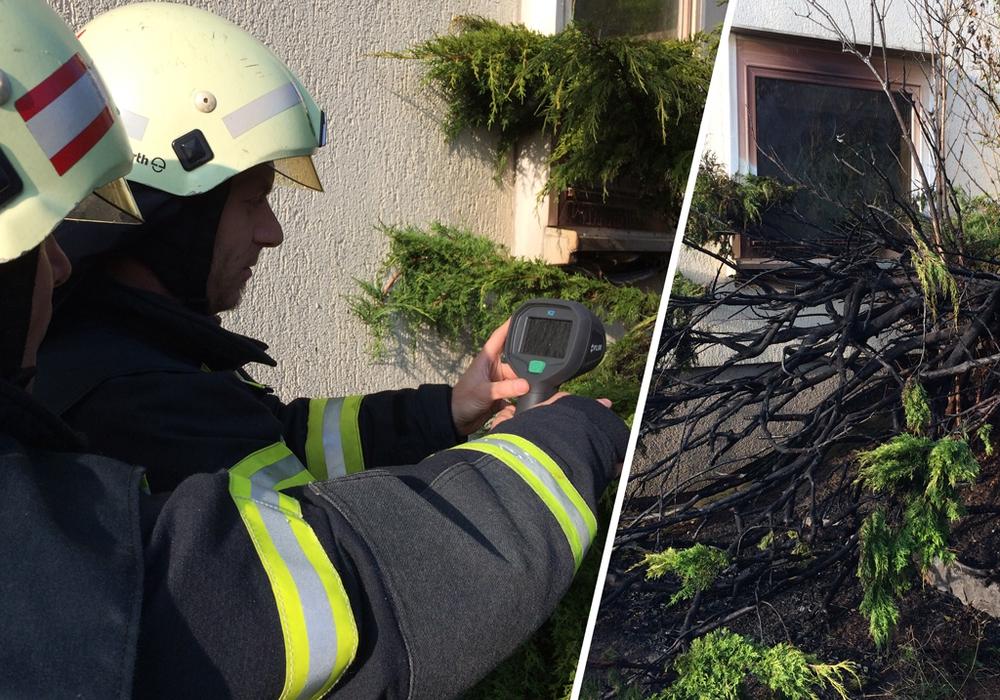 Auch die Wärmebildkamera der Feuerwehr Linden kam zum Einsatz. Fotos: Werner Heise