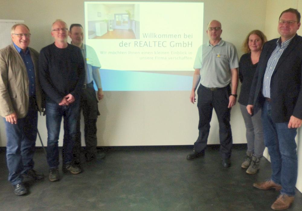 Der SPD-Landtagsabgeordnete Marcus Bosse besuchte die Firma  REALTEC in Remlingen. Foto: