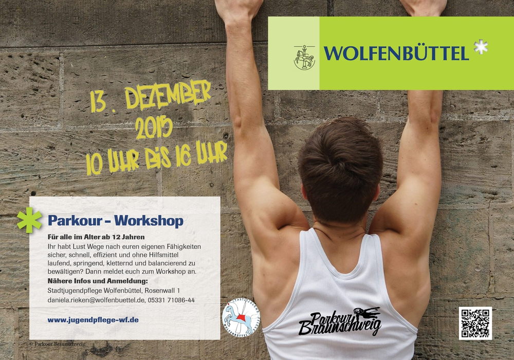 Plakat: Stadtjugendpflege Wolfenbüttel