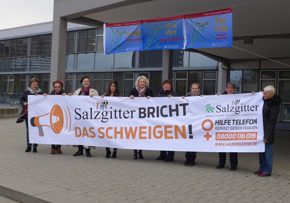 Mut machen, um das Schweigen zu brechen. Foto: Stadt Salzgitter