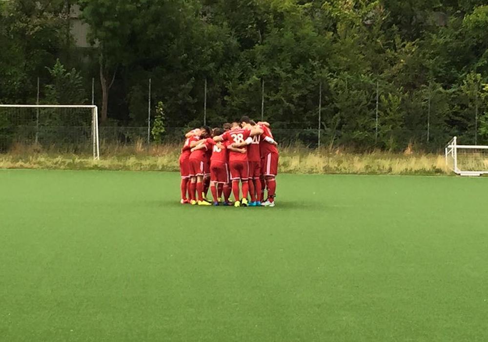 Fußball-Kreisligist VfB Rot-Weiß und Bezirksligist Freie Turner II trennten sich in einem Testspiel 1:1 remis. Foto: privat