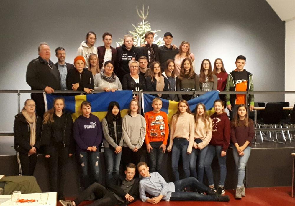 Gruppenbild beim offiziellen Abschluss. Fotos: IGS Lengede
