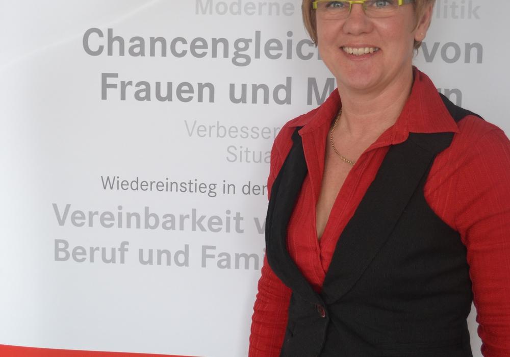 Organisatorin Tanja Lichthardt, Beauftragte für Chancengleichheit am Arbeitsmarkt bei der Agentur für Arbeit Hildesheim. Foto: Agentur für Arbeit