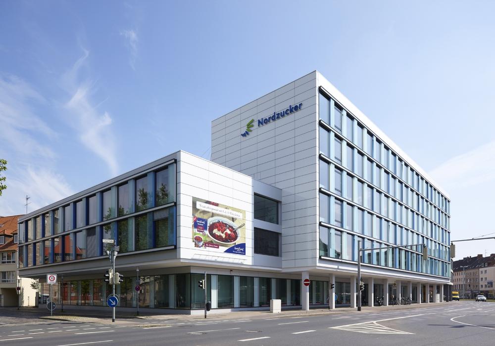 Die Nordzucker Unternehmenszentrale  in Braunschweig. Foto: Nordzucker