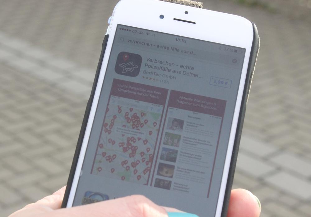 """Wie gut sind die """"Verbrecher Apps"""" ? regionalHeute.de hat bei der Polizei nachgefragt. Symbolfoto: Anke Donner"""