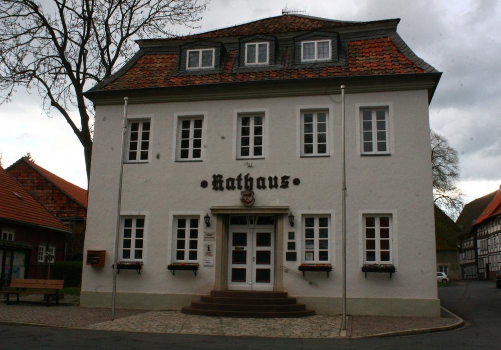 Rathaus Hornburg. Foto: Anke Donner