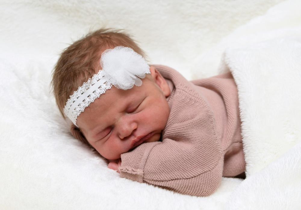 Willkommen, Nora Elara Klatt. Foto: babysmile24.de