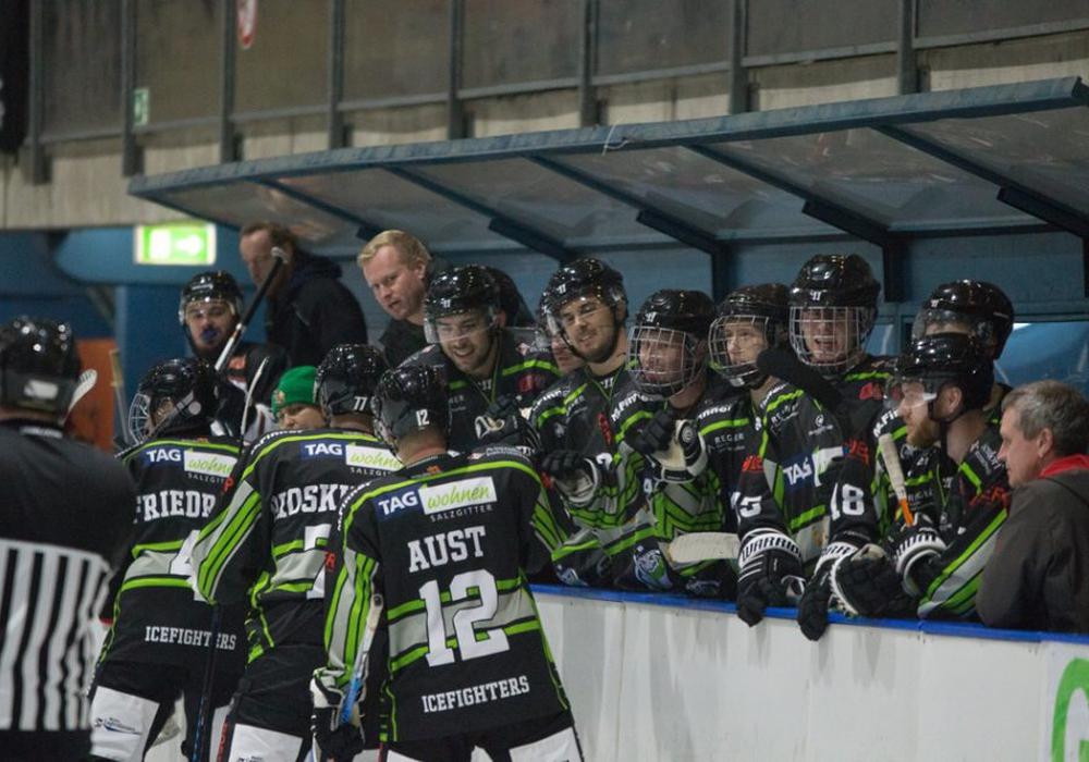 Können die Icefighters an die starke Leistung des vergangenen Wochenendes anknüpfen? Foto: Jens Bartels/Archiv