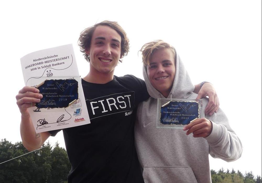 Zwei Wakeboarder vom Salzgittersee starten kommendes Wochenende bei den Deutschen Meisterschaften. Foto: privat