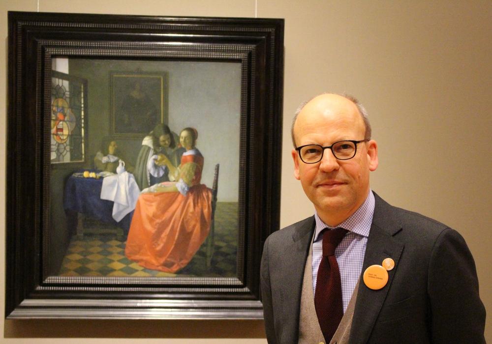 Prof. Dr. Thomas Döring zeigt sich zufrieden mit den Besucherzahlen nach der Wiedereröffnung des Herzog Anton Ulrich Museums im Oktober 2016. Foto: Antonia Henker
