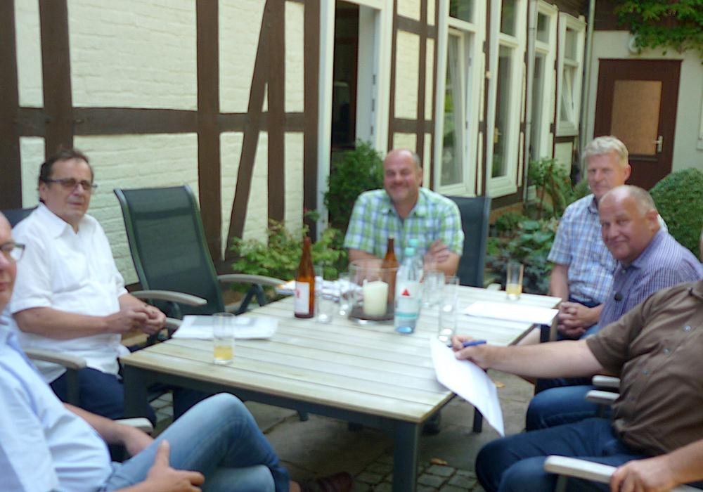 M. Friedrichs, Dieter Hefner, C. Söchtig, G. Nölcke, Norbert Löhr, Frank Oesterhelweg (v. li.). Foto: privat