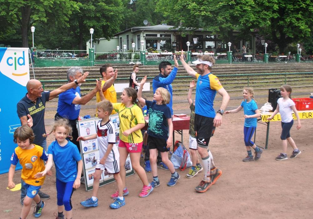 Ein Lauf für Kinder von nah und fern. Foto: Privat