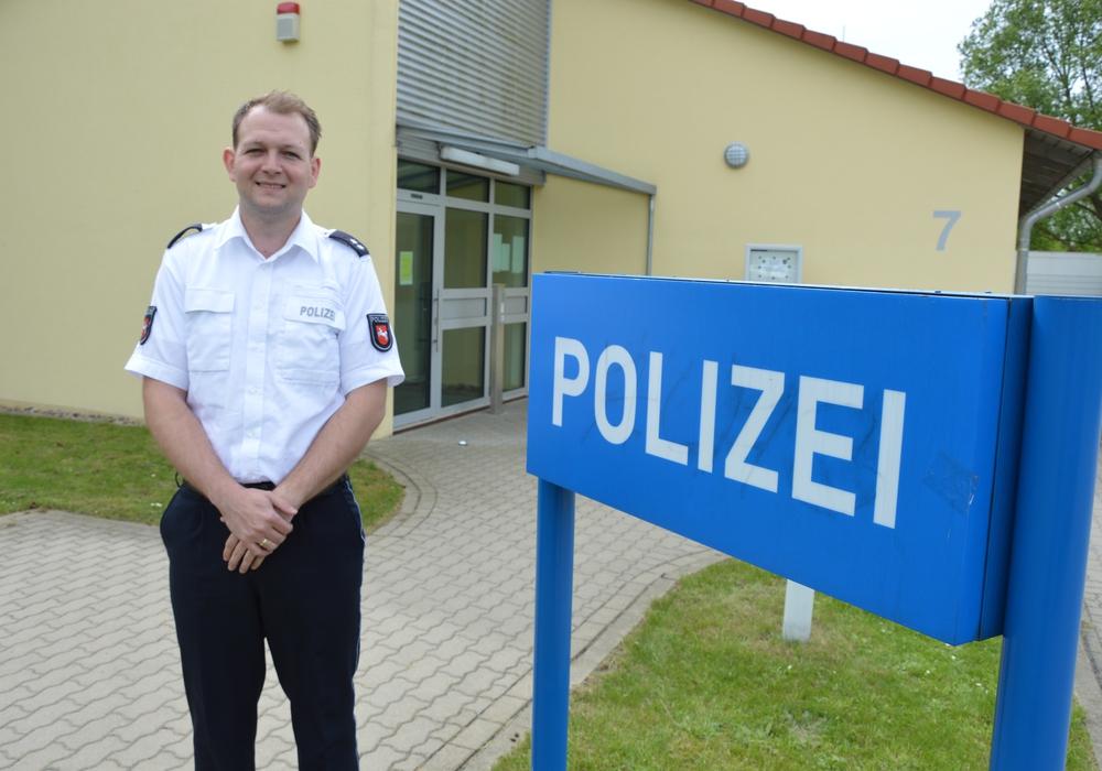 Malte Ramme übernimmt die Leitung der Polizeistation Edemissen. Foto: Polizei