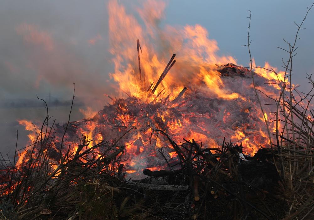 Am Montag findet das Walpurgis-Feuer in Vienenburg nicht statt. Symbolfoto: Jonas Walter