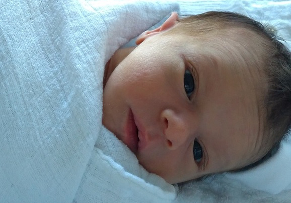 Willkommen: Matilda Luise Stankowitz. Foto: Karen Sierigk, Städtisches Klinikum