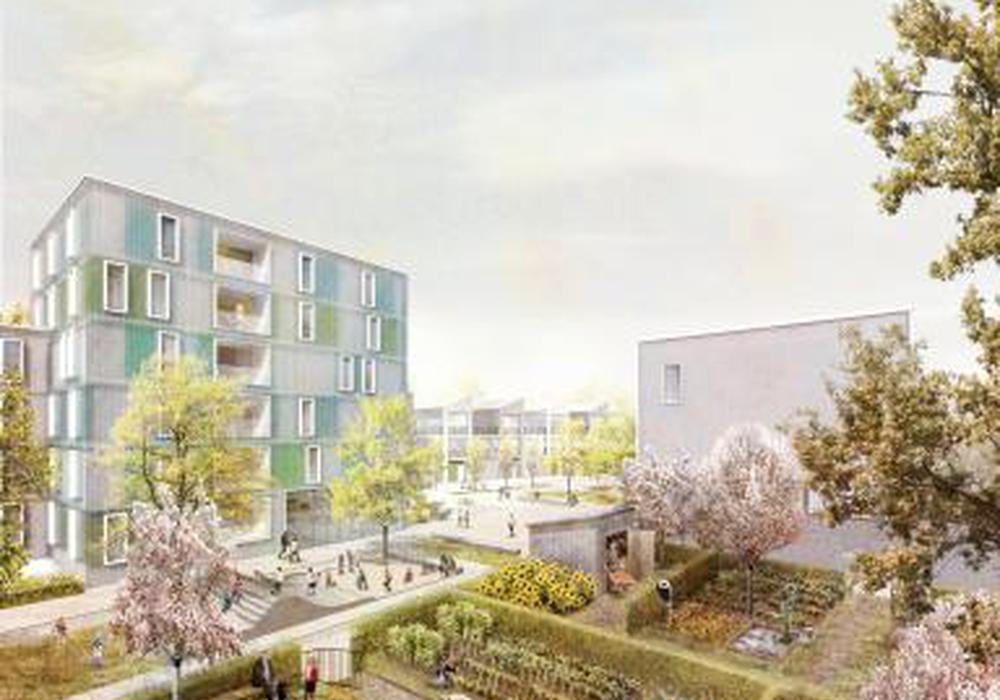 Hellwinkel Terrassen. Quartiersgärten mit Hecken und Obstbäumen bewahren ein Stück der früheren Nutzung und Artenvielfalt. Foto: SMAQ – architecture urbanism research