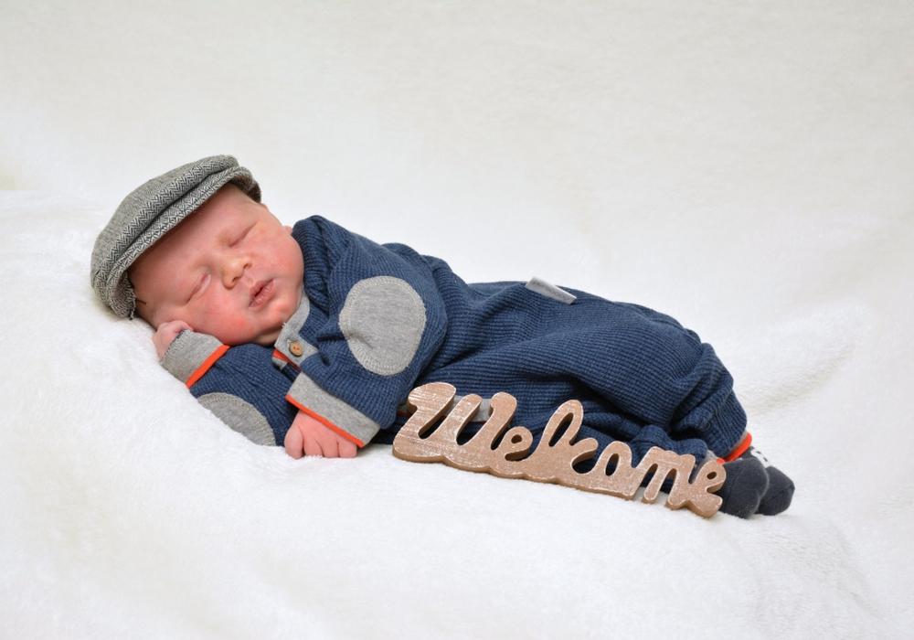Herzlich Willkommen Nevio Berto. Foto: babysmile24.de