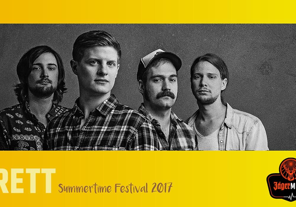 BRETT aus Hamburg wurden für das Summertime Festival vestätigt. Foto: Veranstalter