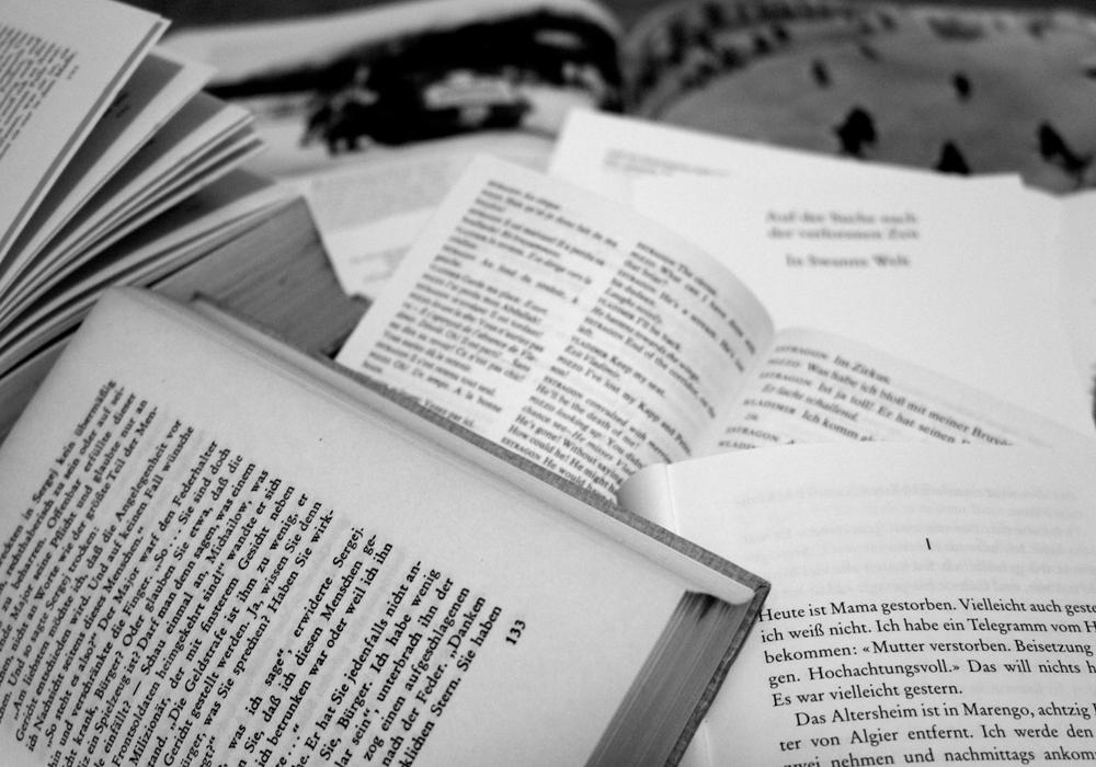 Am 17. September um 15 Uhr findet ein Literarischer Spaziergang statt. Foto: Sina Rühland